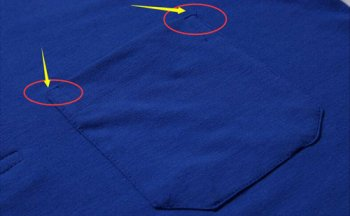 在定做T恤衫上加做口袋有隐患,不防范会吃亏