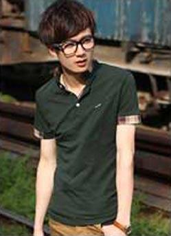韩版T恤衫定做,时尚大方夏季短
