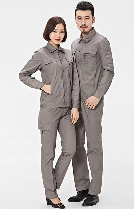 <b>长袖时尚工作服设计定制款式模</b>