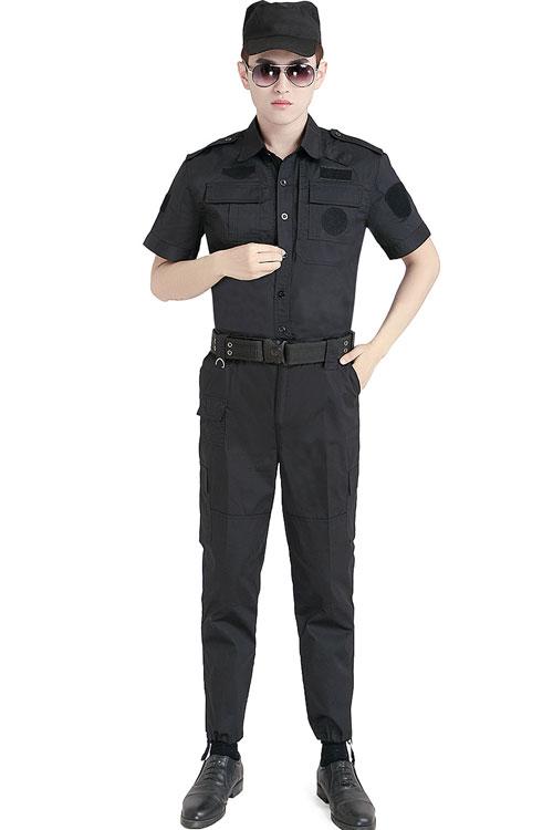 新款夏季保安执勤作训工作服套